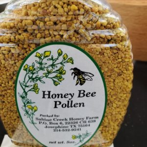 Bee Pollen from Sabine Creek Honey