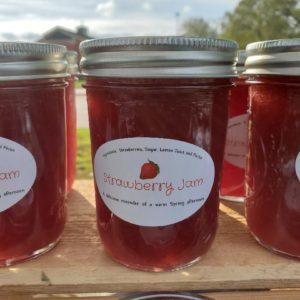 Strawberry Jam 6 oz jar