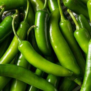 Serrano Peppers 1/2 lb