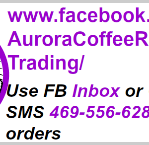 Aurora Coffee Starlight House Blend 1 lb