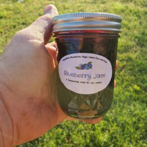 Blueberry Jam 8 oz