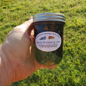 Spicy Blueberry Jam 8 oz