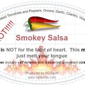 HOT!!!! Smokey Salsa
